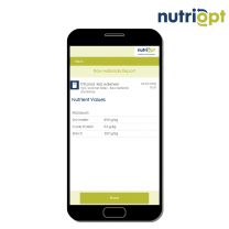 NutriOpt On-site Adviser Starter – dry products and silage